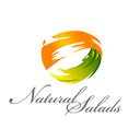 Natural Salads background