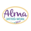 Alma cafetería natural background