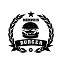 Memphis Burger background
