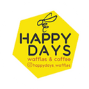 Happy Days Waffles & Coffee background