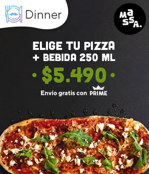 Elige tu Pizza + Bebida 250 ml