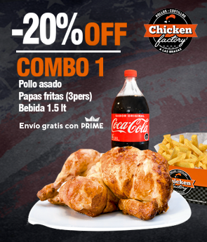 combo 1 chicken factory
