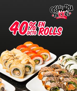 Oshuru Nikkei 40% off