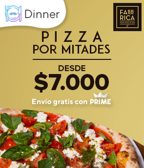 Pizza Mitades La Fabbrica