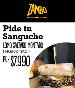 Sanguche montado Zambo