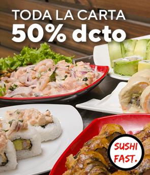 TODA LA CARTA CON 50% DSCTO