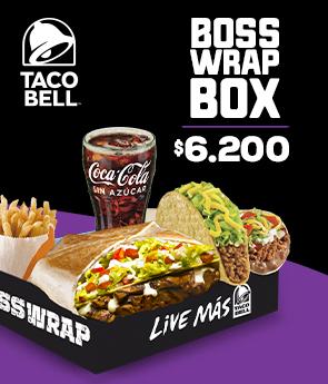 Taco Bell Bosswrap